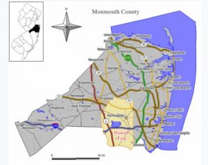 Map Howell NJ
